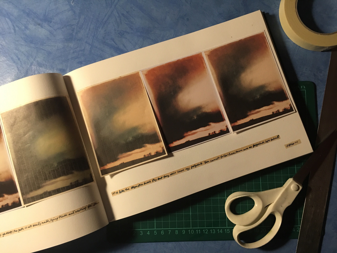 mobile photography in physical form. Photograph © Nettie Edwards