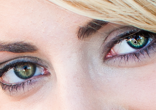 ...color in the eyes are poppin'