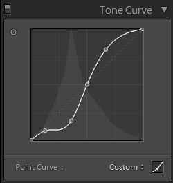 playing with the tone curve