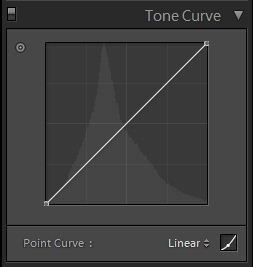 flattening the line on the tone curve