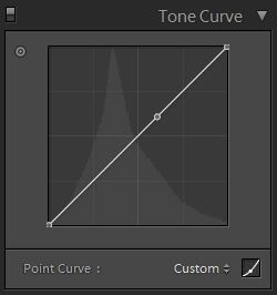 adding new control points on the tone curve